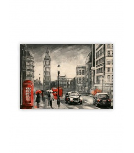 Wall calendar - Wooden picture - London 2021