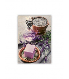 Wall calendar - Wooden picture - Provence 2021