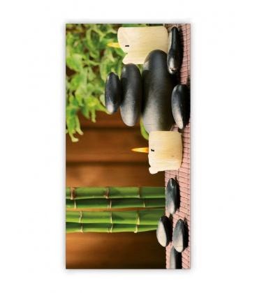Wall calendar - Wooden picture - Zen 2021