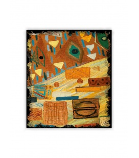 Wall calendar - Wooden picture - Graffiti 2021