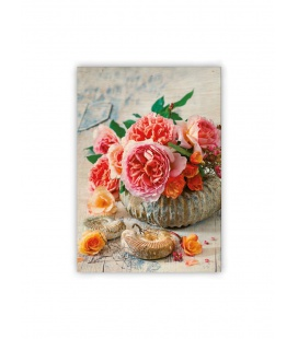 Wall calendar - Wooden picture - Shell 2021