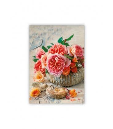 Wall calendar - Wooden picture - Shell 2021