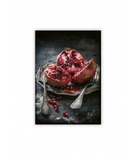 Wall calendar - Wooden picture - Food Art 2021