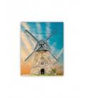 Wall calendar - Wooden picture - Windmill 2021