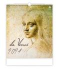 Wall calendar Leonardo da Vinci 2021