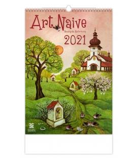 Wall calendar Art Naive 2021