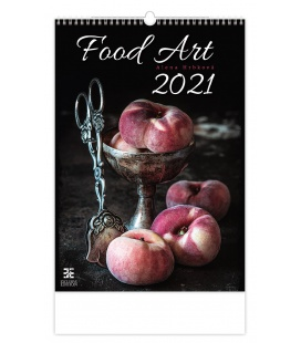 Wall calendar Food Art 2021