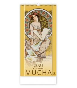 Wall calendar Alfons Mucha 2021