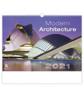 Wall calendar Modern Architecture 2021