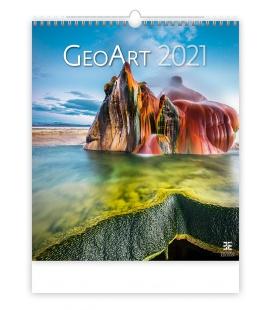 Wall calendar Geo Art 2021
