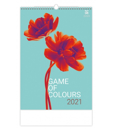 Wall calendar Game of Colours 2021