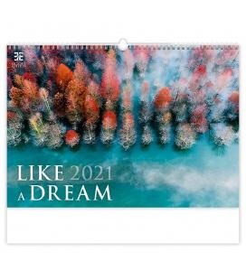 Wall calendar Like a Dream 2021