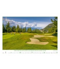 Wall calendar Golf 2021