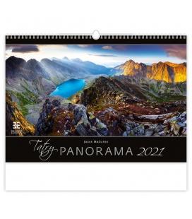 Wall calendar Tatry Panorama 2021