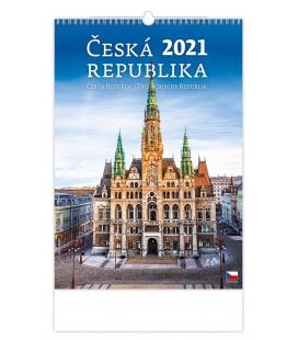Wall calendar Česká republika/Czech Rupublic/Tschechische Republik 2021