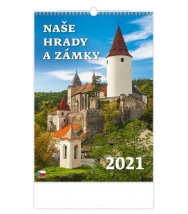 Wall calendar Naše hrady a zámky 2021