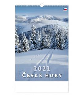Wall calendar České hory 2021