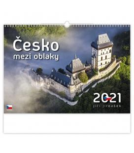 Wall calendar Česko mezi oblaky 2021