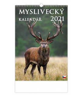 Wall calendar Myslivecký kalendář 2021