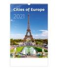 Wall calendar Cities of Europe 2021