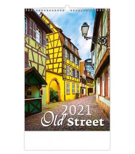 Wall calendar Old Street 2021