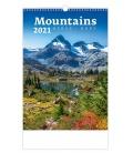Wall calendar Mountains/Berge/Hory 2021
