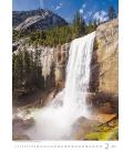 Wall calendar Waterfalls 2021