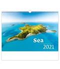 Wall calendar Sea 2021