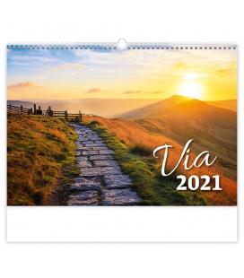 Wall calendar Via 2021