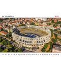 Wall calendar World Wonders 2021