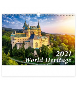 Wall calendar World Heritage 2021
