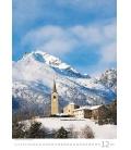 Wall calendar Alps 2021