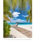 Wall calendar Tropical Beaches 2021