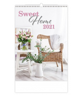 Wall calendar Sweet Home 2021