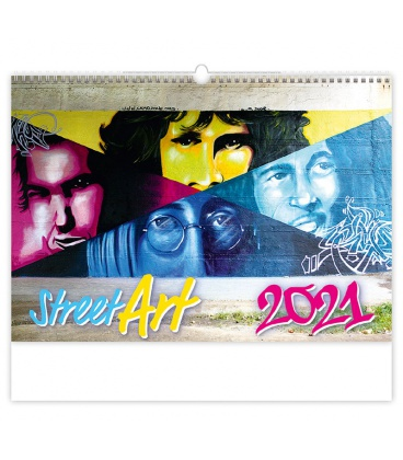 Wall calendar Street Art 2021