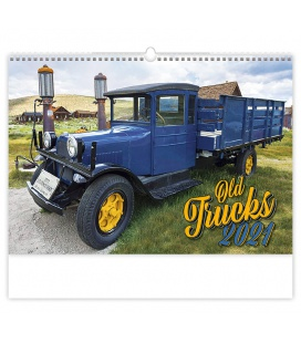 Wall calendar Old Trucks 2021