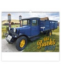 Wall calendar Old Trucks 2021