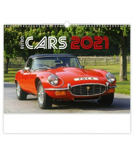 Wall calendar Retro Cars 2021