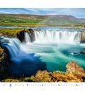 Wall calendar Aqua 2021