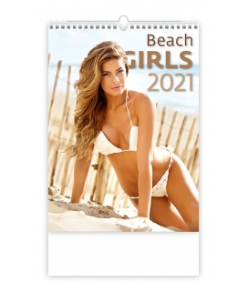Wall calendar Beach Girls 2021