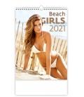 Wall calendar Beach Girls 2021