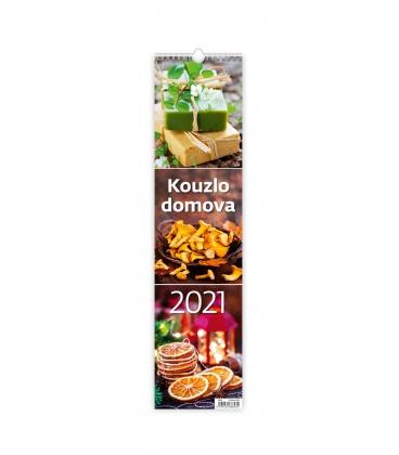 Wall calendar Kouzlo domova - vázanka 2021
