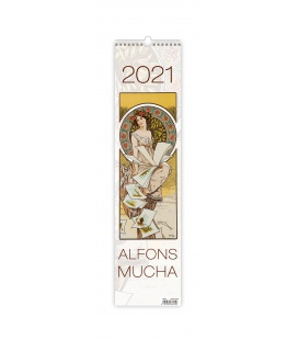 Wall calendar Alfons Mucha - vázanka 2021