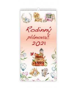 Wall calendar Rodinný plánovač 2021