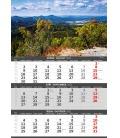 Wall calendar Mountains - 3 monthly / Hory -3měsíční/Hory - 3mesačné 2021