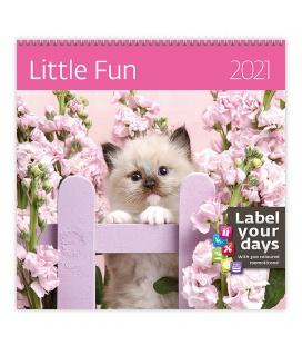 Wall calendar Little Fun 2021