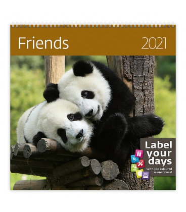 Wall calendar Friends 2021