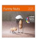 Wall calendar Funny Nuts 2021