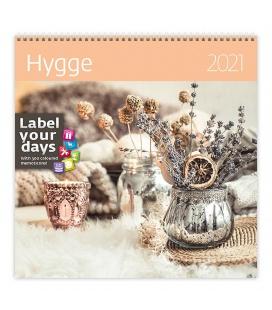 Wall calendar Hygge 2021