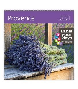 Wall calendar Provence 2021